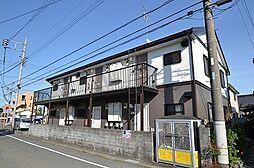 東京都羽村市五ノ神2丁目の賃貸アパートの外観