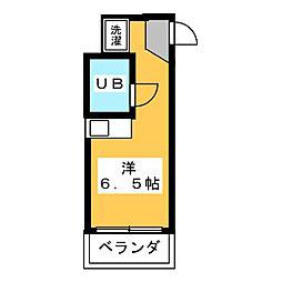 コーポコバヤシ六番町[2階]の間取り