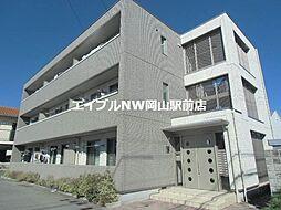 岡山県倉敷市沖丁目なしの賃貸アパートの外観