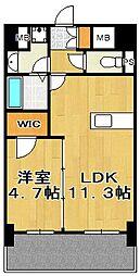 NOBLE RICH 博多[3階]の間取り