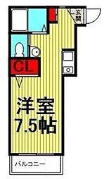 コラージュガーデン[2階]の間取り
