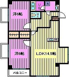 K`Sビル[2階]の間取り