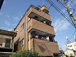 東京都府中市晴見町3丁目の賃貸マンションの外観