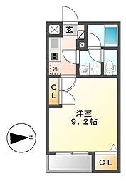 イースタンヒルズ覚王山[1階]の間取り