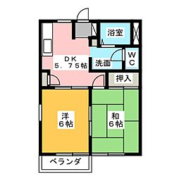 CASA弥富A棟[1階]の間取り
