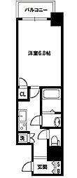 レジュールアッシュプレミアムツインII[10階]の間取り