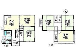 一戸建て(草津駅から徒歩13分、88.60m²、2,280万円)