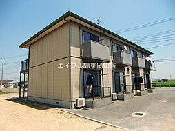 岡山県岡山市東区九蟠丁目なしの賃貸アパートの外観
