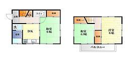 [一戸建] 神奈川県横須賀市三春町5丁目 の賃貸【/】の間取り