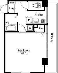ヴィラスカイツリーパートI[3階]の間取り