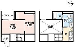 Oence 港東通(オーエンスコウトウドオリ)[2階]の間取り
