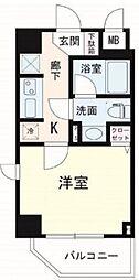 ルクシェール横浜吉野町[10階]の間取り