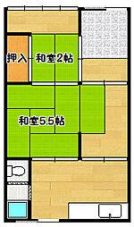[一戸建] 兵庫県神戸市兵庫区菊水町10丁目 の賃貸【/】の間取り