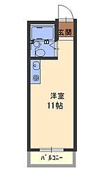 フォルム太子橋[3階]の間取り