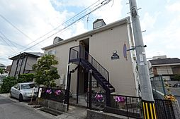 兵庫県西宮市甲風園1丁目の賃貸アパートの外観
