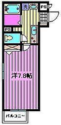 デュオ リズム[1階]の間取り