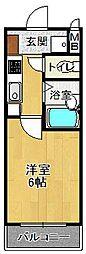 コンフォール雲井[2階]の間取り