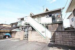 岡山県倉敷市福島丁目なしの賃貸アパートの外観