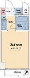 藤和横浜西口ハイタウン[2階]の間取り