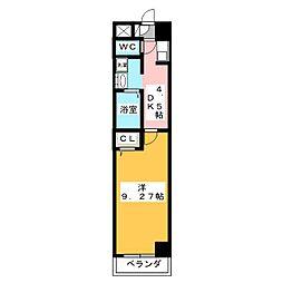 ビバ犬山[2階]の間取り