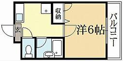 ドリアード下鴨[2階]の間取り