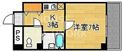 Nシャンブル[302号室号室]の間取り