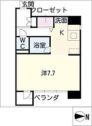 ラクロア[8階]の間取り