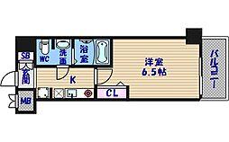 ラナップスクエア四天王寺[4階]の間取り