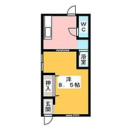 sonrisa藤町[1階]の間取り