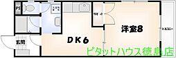 さやか第1ビルディング[307号室]の間取り