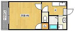 スプリングファーストビル[3階]の間取り