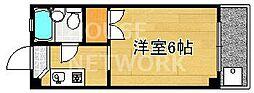 ロイヤルコーポタカノ[121号室号室]の間取り