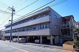 千葉県流山市平和台2丁目の賃貸アパートの外観