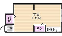 千寿荘[N204号室]の間取り