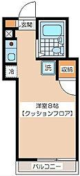 ヒルサイド松原[2階]の間取り