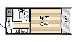 マキシム十三[3階]の間取り
