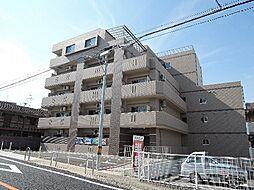 京都府宇治市宇治弐番の賃貸マンションの外観