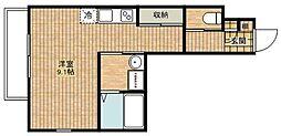 C&D apartment[301号室]の間取り