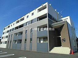 岡山県倉敷市中島丁目なしの賃貸マンションの外観