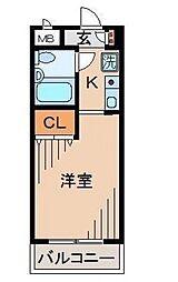 メゾン・ド・プラシード[2階]の間取り
