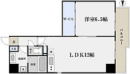 プライムツリー内久宝寺[11階]の間取り