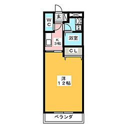 MYTHOS[3階]の間取り