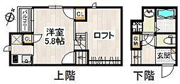 CB 次郎丸 シエロ[1階]の間取り