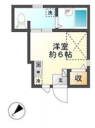 ZEST MUSAKO[1階]の間取り