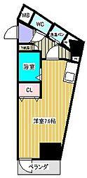 S・BUIL[7階]の間取り
