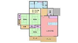 [一戸建] 福岡県福岡市西区今宿町539丁目 の賃貸【/】の間取り