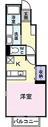 KハウスIII[0102号室]の間取り