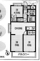 ジョイフルハイツ大沢 室内はとても丁寧にお使いです。
