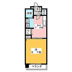Grance Kotobuki[5階]の間取り