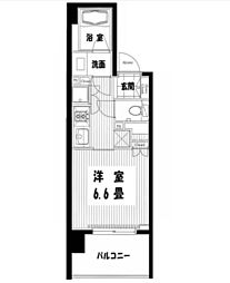 クレストコート吾妻橋レジデンス[11階]の間取り